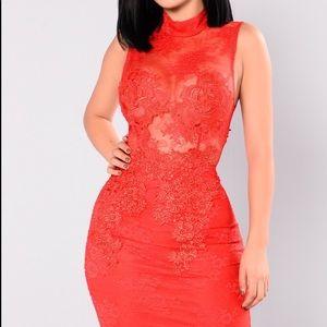Fashion Nova Plus Prue Lace dress